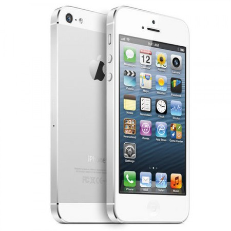 Apple iPhone 5 64Gb white - Липецк